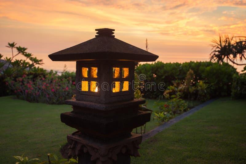 Rust op Bali stock afbeelding
