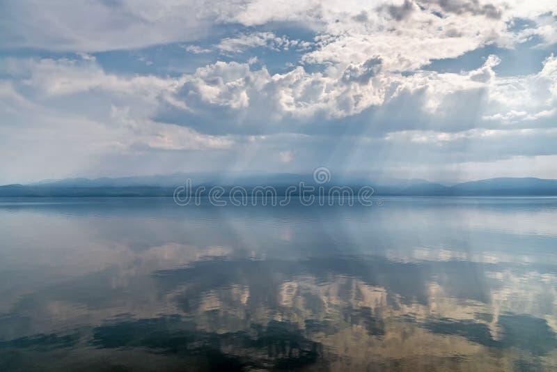 Rust op het meer Baikal royalty-vrije stock foto