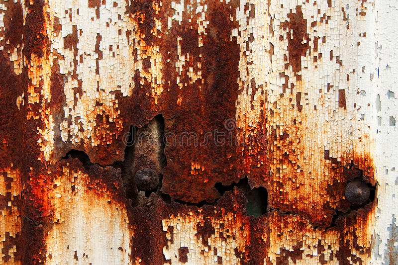Rust On Surface Of Iron Plate Stock Images