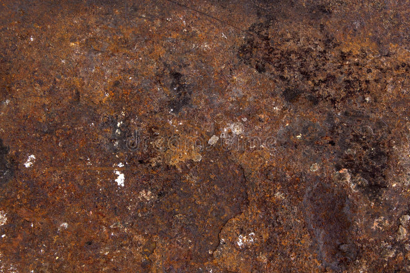 Rust texture background. With much details stock image