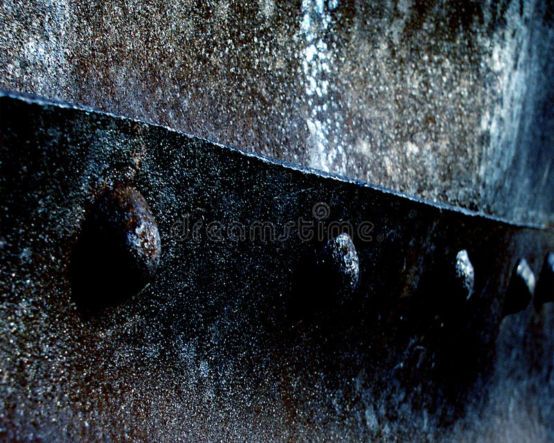 Download Rust Topic stock image. Image of rivets, blue, texture, metal - 41771