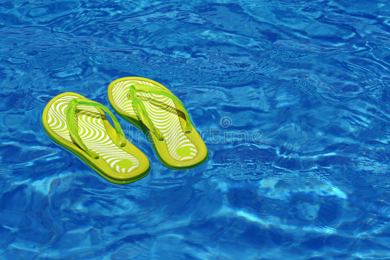 Rust/zwembad stock afbeelding