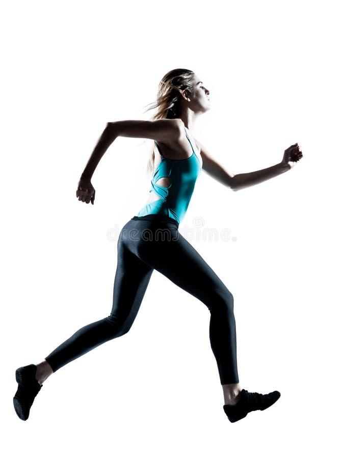 rustande sportigt kvinnabarn arkivfoto