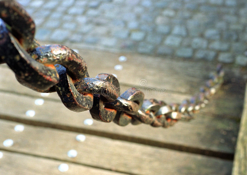 Download Rusted chain stock image. Image of bridges, iron, leverage - 107049