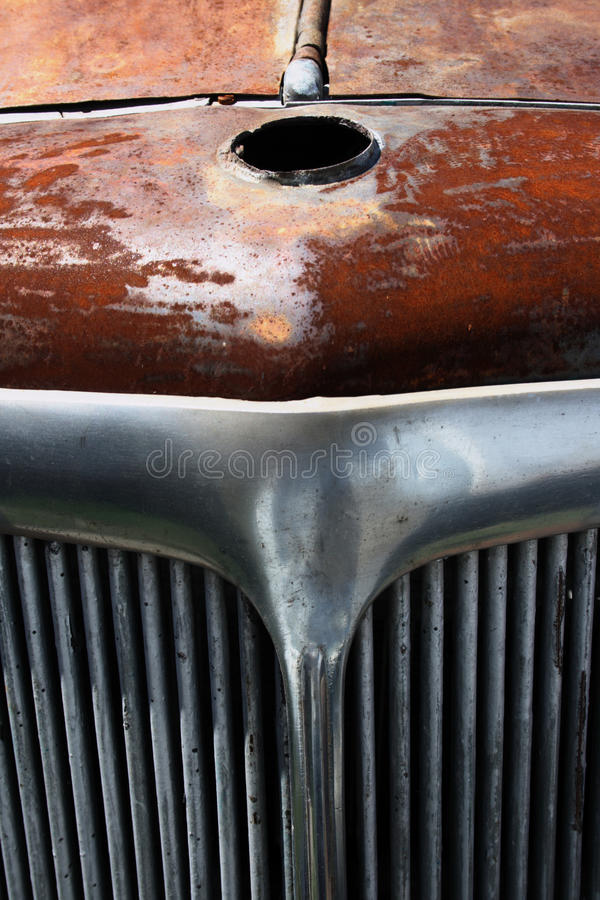 Download Rusted classic german car stock image. Image of ruined - 10426043
