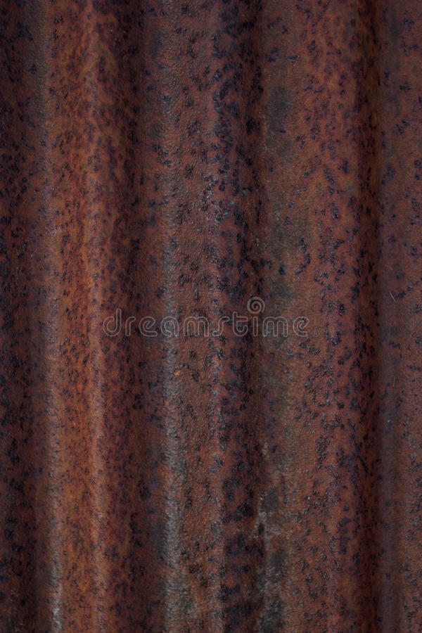 Download Rusted corrugated iron stock image. Image of rust, abstract - 16329319