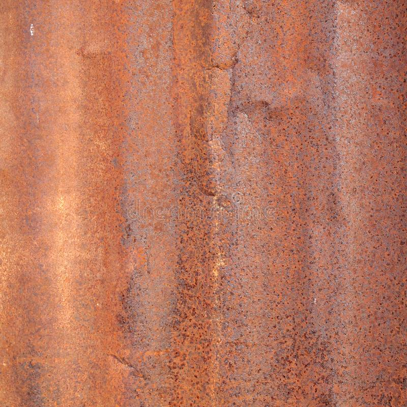 Rusted galvanized iron plate royalty free stock photos