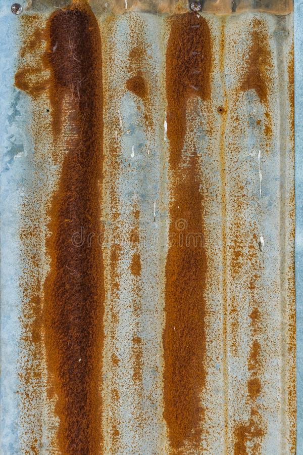 Free Rusted Iron On Zinc Roof Texture Background Royalty Free Stock Photos - 100965988