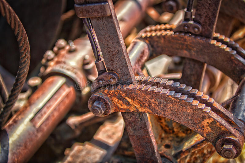 Download Rusted machinery stock image. Image of apparatus, lever - 25694437