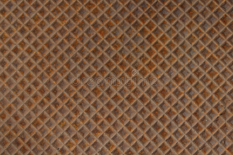 Rusted metal cover stock photos