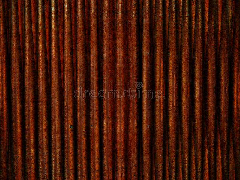 Rusted Metal Pattern royalty free stock photography