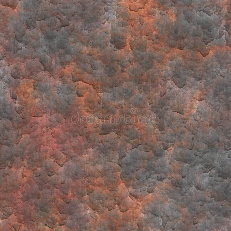 Rusted Metal Plate Abstract Background royalty free illustration