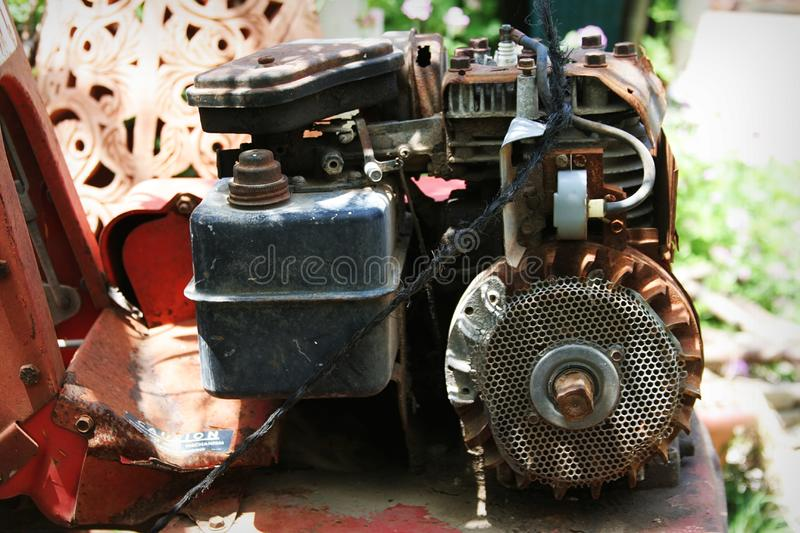 Download Rusted  motor stock image. Image of detail, power, manufacturing - 733589