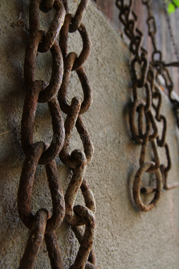 Download Rusted old chains stock photo. Image of retro, metal, circle - 5258930