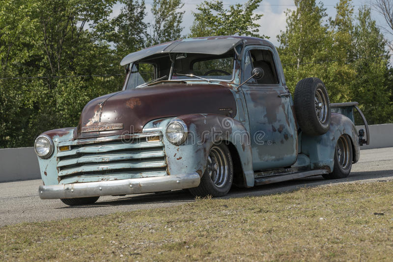 Rusted pickup truck royalty free stock image