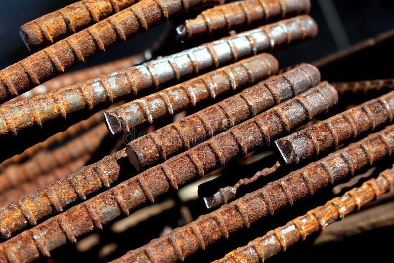 Download Rusted Steel stock image. Image of rust, junk, bars, metal - 23464925
