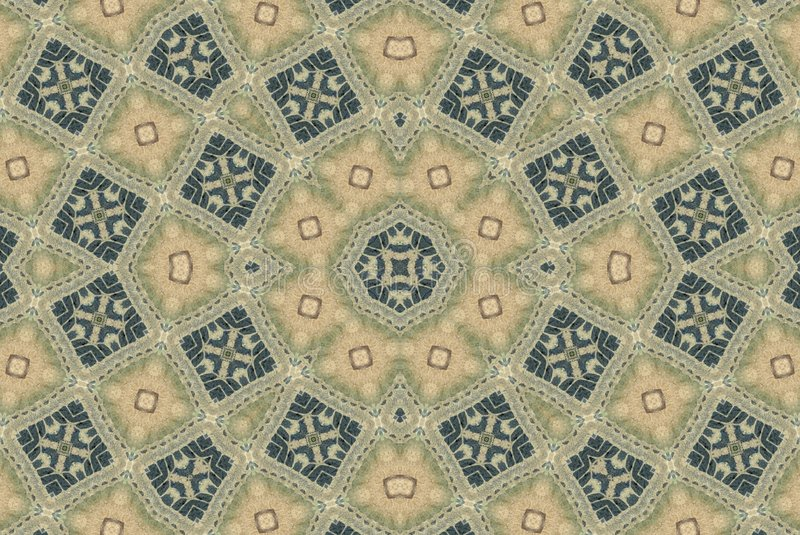 Rustic Artistic Mosaic Pattern stock photography