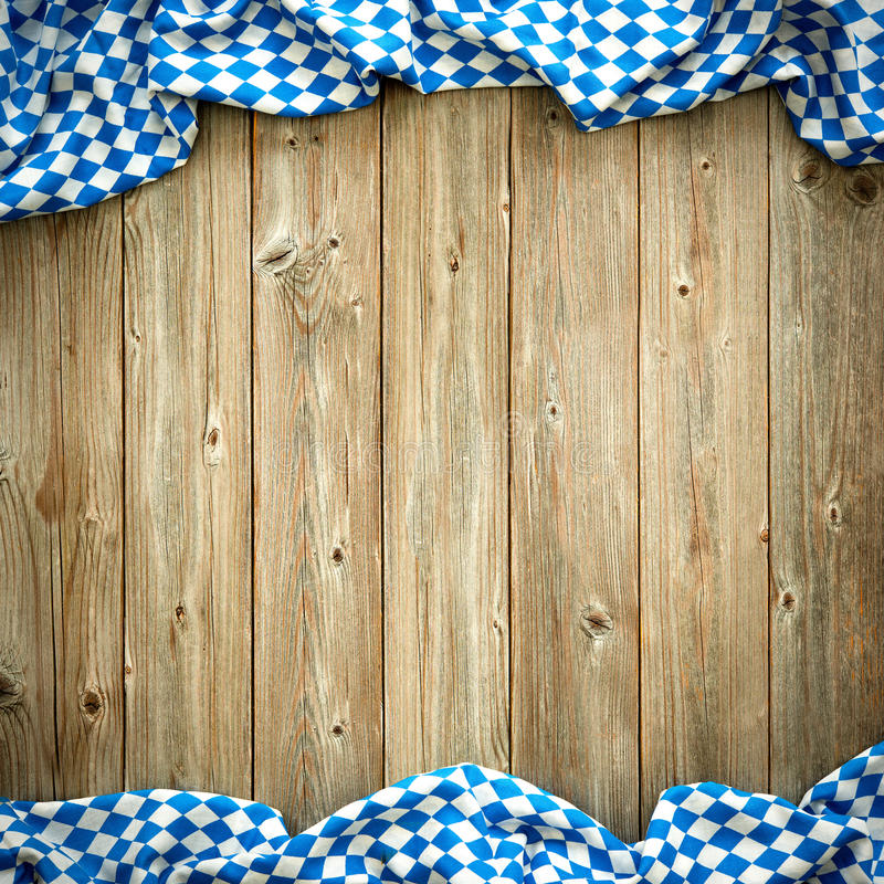 Rustic background for Oktoberfest royalty free stock photography