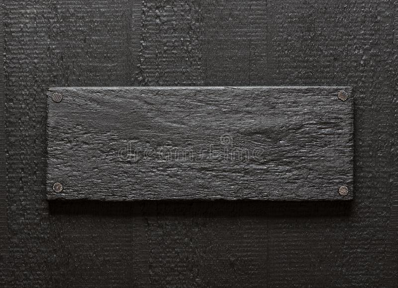 Download Rustic Black Wood Background Stock Photo