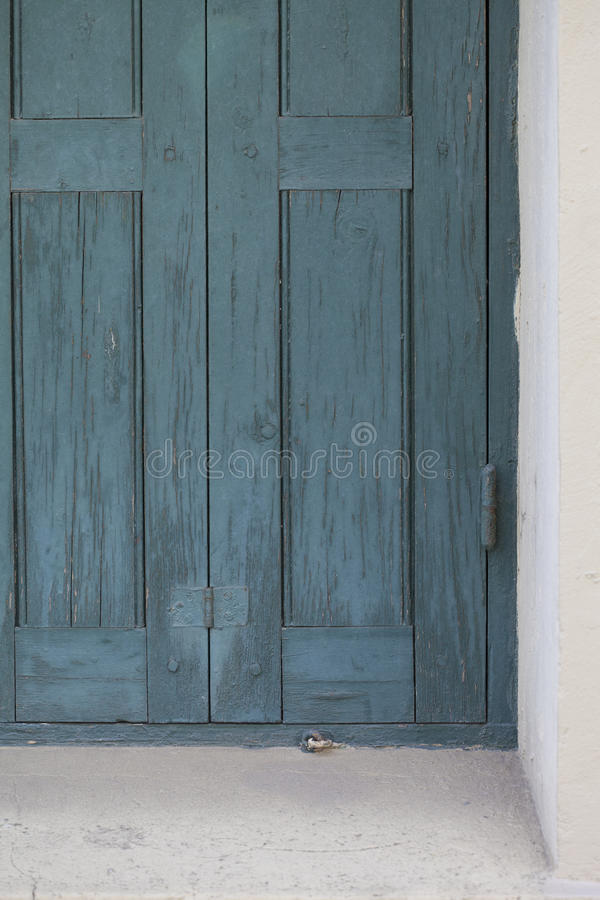 Free Rustic Blue Door Or Shutter For Window Rustic And Cracked Paint Royalty Free Stock Photos - 90759668