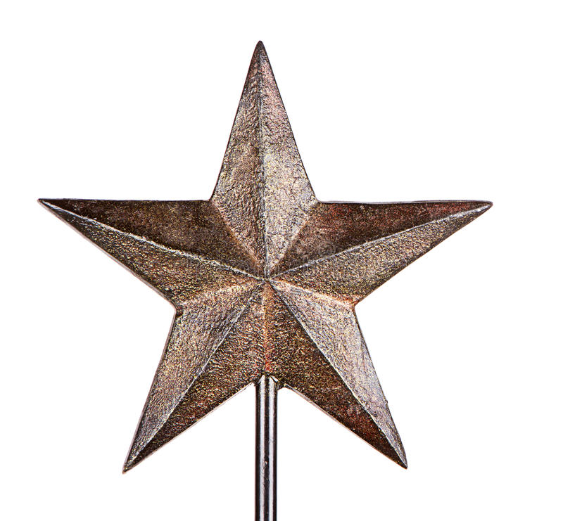 Free Rustic Christmas Star Tree Topper Stock Image - 26292531