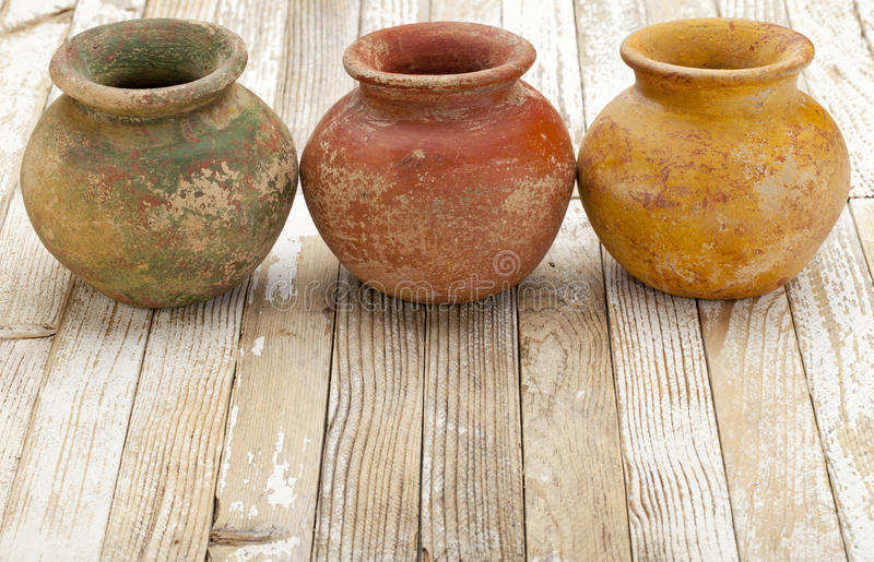 Download Rustic clay pots stock photo. Image of ceramic, clay - 21597244
