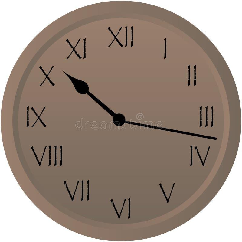 Rustic Clock Royalty Free Stock Image