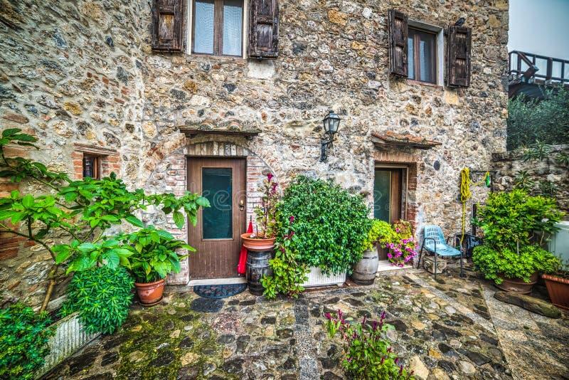 Rustic corner in Tuscany. Italy stock image