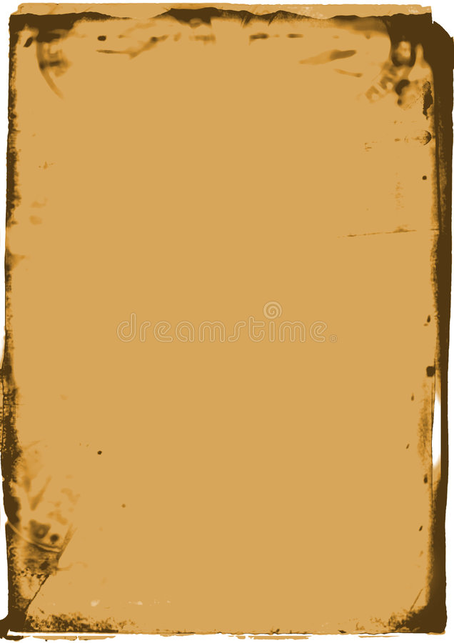 Rustic frame 2 stock photo