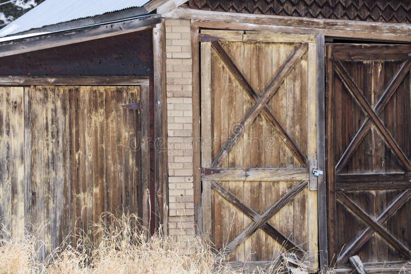 Rustic Garage in Cripple Creek. A rustic garage in Cripple Creek, Colorado royalty free stock image