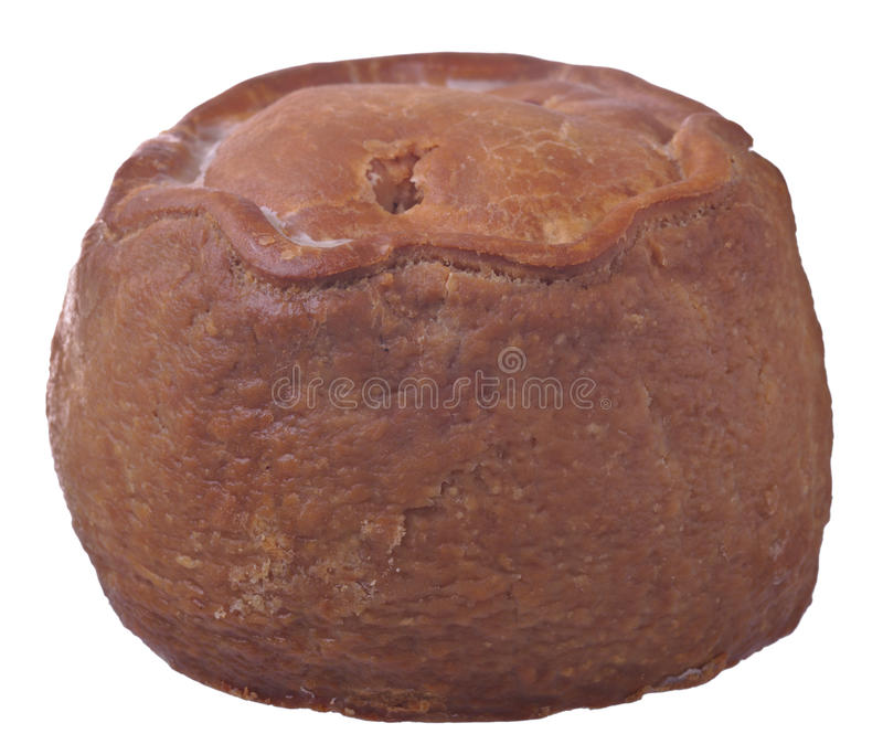 Download Rustic Pork Pie Whole stock image. Image of whole, dinner - 29995681