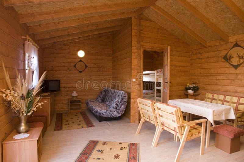 rustic home interior royalty free stock photos