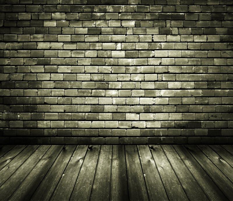 Download Rustic House Interior Brick Wall Wooden Floor Stock Image - Image: 9540555