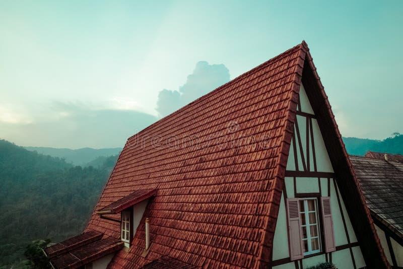 Rustic House Roof Free Public Domain Cc0 Image