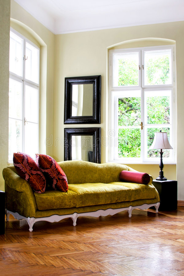 Rustic interior stock photos