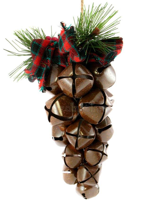 Rustic Jingle Bells royalty free stock photography