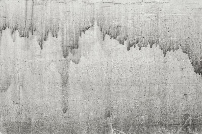 Rustic concrete wall photo texture. Old concrete surface with drips and dirt. Rustic light grey concrete wall photo texture. Old concrete surface with drips and royalty free stock images