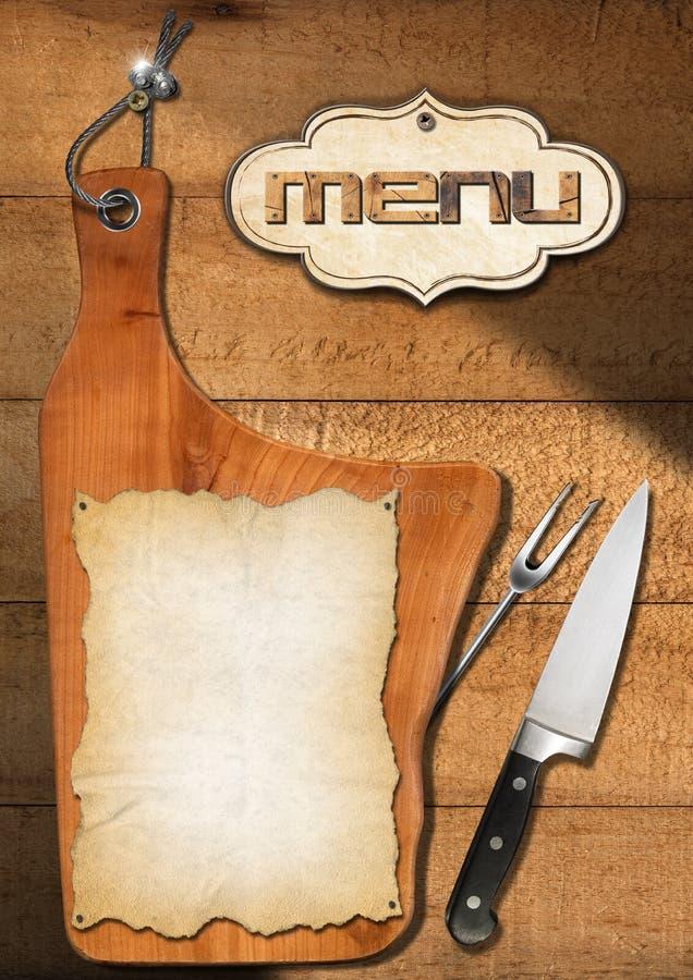 Download Rustic Menu Template Stock Illustration Of Chef