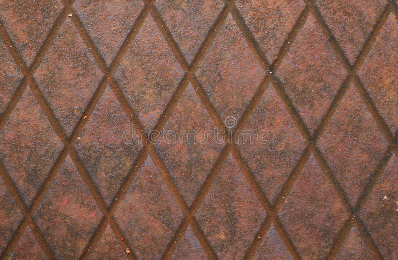 Rustic metal diamond texture royalty free stock photography