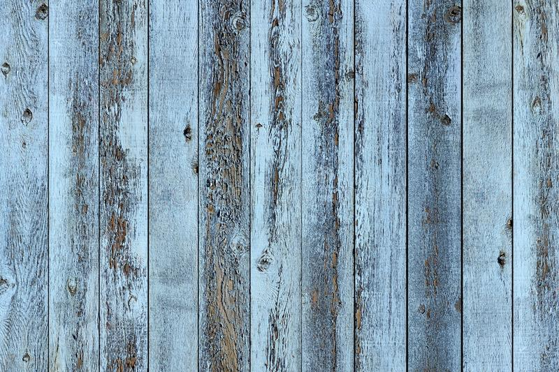 Rustic old blue wood plank background royalty free stock images