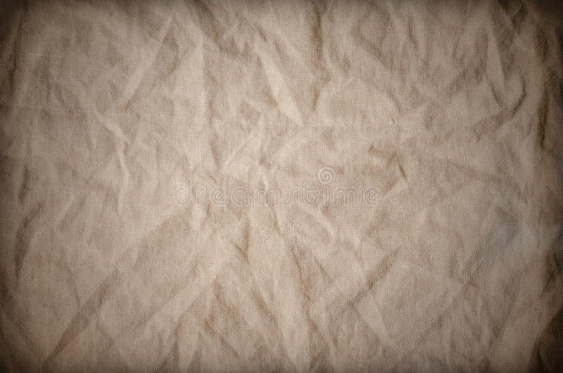 Rustic Old Fabric Burlap Texture Background royalty free illustration