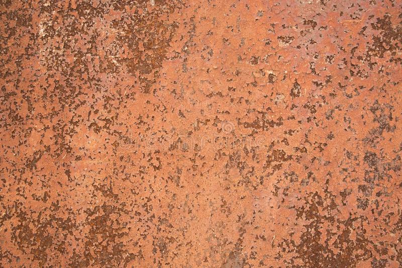 Rustic old red iron surface texture stock photography