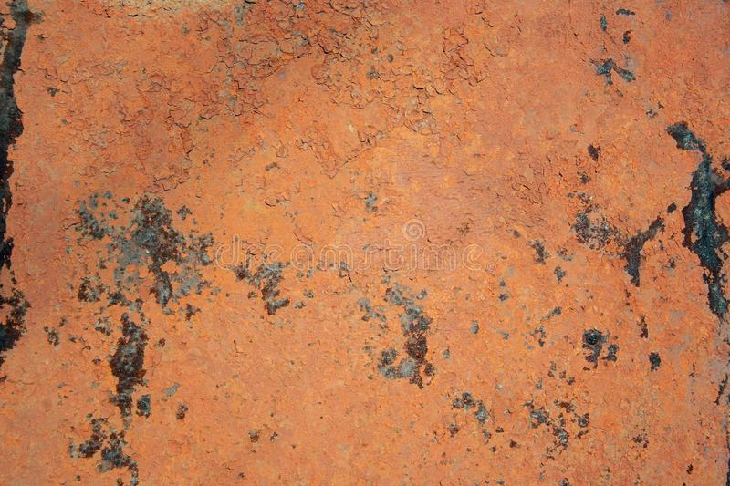 red iron surface royalty free stock images