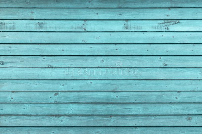 Rustic Old Weathered Blue Wood Plank Background royalty free stock images