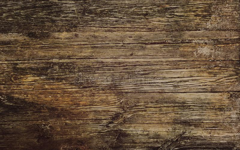 Rustic old brown wood background - empty - Photo image. Rustic old wood background color oak brown stock images