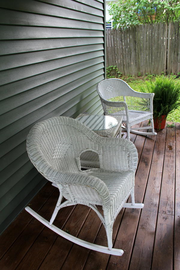 Front Porch Rocking Chairs Stock Photos Download 243
