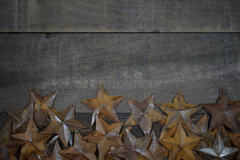 Stars on Wood stock photos