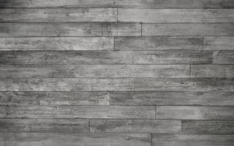 Rustic Silver Grey Wood Plank Background Stock Photo