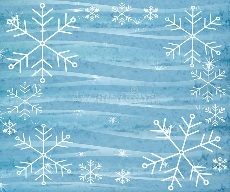 Rustic Snowflake Background 3 stock photo