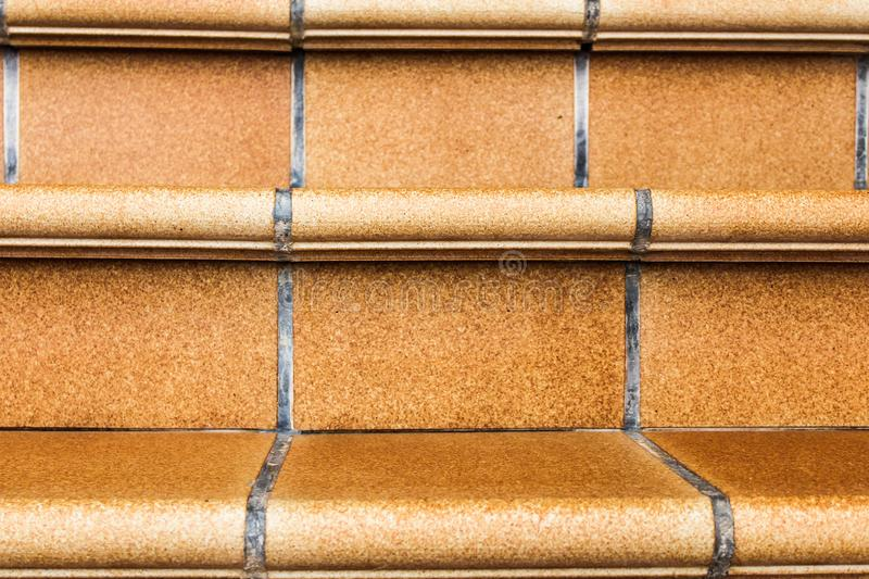 Rustic Stairs Closeup Background Texture stock images